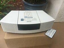 BOSE Wave Radio with CD Model AWRL1P with Remote White  NICE!