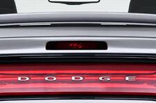 "Vinyl Decal Graphics Wrap Kit for Dodge Charger 2010-2014 3rd Brake Light ""R/T"""