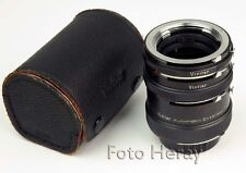 Vivitar Extension Tube Zwischen-Ring-Set AT-5 36mm 20mm & 12mm 03676-3/2