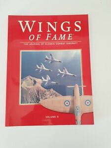 Book paperback -Wings Of Fame -Volume 5- The Journal of Classic Combat Aircraft