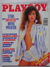 Playboy NL 7/1988, Teri Weigel, Emily Arth, Linda Krijgsman, Tina Ruhland