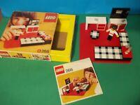 Lego 266 - chambre - En Boite Avec Notice - Set De 1974 Rare Vintage