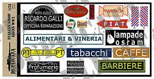 Diorama Accessory - 1/35 Italian Shop Signs - WW2