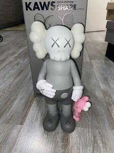 KAWS Share Grey/Pink 100% AUTHENTIC