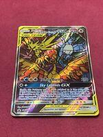 Pokemon Moltres & Zapdos & Articuno GX Full Art Promo Hidden Fates NM SM210