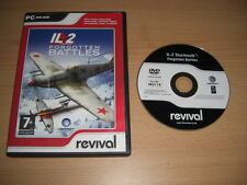 IL2 IL 2 IL-2 STURMOVIK FORGOTTEN BATTLES  Rev Pc DVD Rom FAST POST