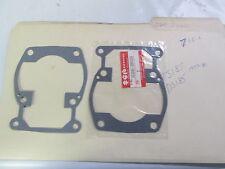 SUZUKI TS185,DS185 1977-81   cylinder base gaskets p.n 11241-29300  YOU GET 2
