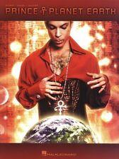 Prince PLANET EARTH Piano Guitar Sheet Music Book PVG