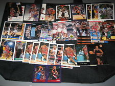 LOT (36) SCOTTIE PIPPEN AUTHENTIC COLLECTIBLE NBA BASKETBALL CARDS LEGEND STAR