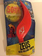 KAOS Zeus Water Balloon Launcher with 100 Balloons & Faucet Filler Outdoor Toy