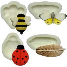 Silicone Moulds - Set Of Four Nature - Food Safe