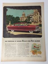 Original Print Ad 1952 NASH Golden Airflyte Washington DC Views Ambassador