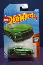2018 Hot Wheels 2017 CAMARO ZL1 in Green. HW MUSCLE MANIA series 1/10. Long Card