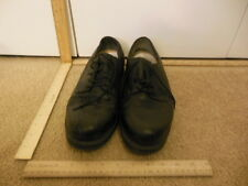 Formal Dress Fancy Mens Black Leather Used Shoes 17763-8 Size 10 1/2 10.5 #37