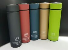 LIFE 500ml/17oz Leak-Proof Non Spill Coffee/Tea Thermal Travel Mug/Flask