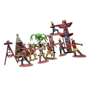 Tribe Character People Action Figures Home Decoration