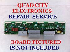 LJ92-01601A BN96-09738A Samsung Y-Main Board REPAIR SERVICE PN50B450B1DXZA Etc.