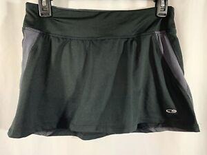 Champion Women's Size Small Skort Short Shorts Skirt Tennis Golf Black Pocket