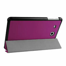 Funda para Samsung Galaxy Tab E 9.6 sm-t560 sm-t561 FUNDA SMART COVER CASE LILA