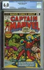 Captain Marvel #25 CGC 6.0 Super-Skrull App Jim Starlin