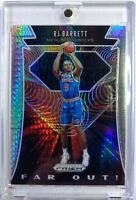 2019-20 Panini Prizm Far Out! Hyper RJ Barrett Rookie RC #25, Knicks