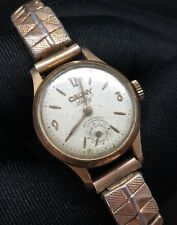Cauny Lady Vintage Watch Doesn'T Works Hand Manual Winding Watch 22mm