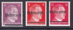 Lokalausgabe Scheibbs 1945 insg.3 Werte postfrisch**siehe 2 Bilder >