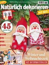 Mein Deko und Bastelspaß BS 356 - Natürlich dekorieren mit Holz Winter und Weihn