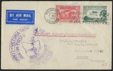 Australia 1931 First Flight Melbourne To Hobart Tasmania