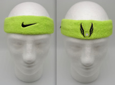Nike Track & Field Headband USATF Atomic Green/Black Men's Women's