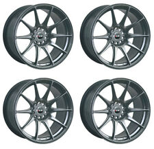 "XXR 527 18"" x 8.75J 5x120/114 BLACK CHROME MASSIVE WIDE RIMS ALLOYS WHEELS Z1247"