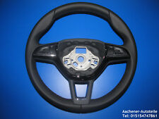 Original Skoda Rapid Superb Yeti Multi Function Leather Steering Wheel