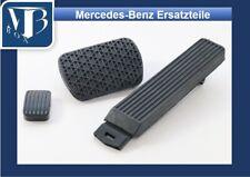 O225/ Original Mercedes W107 R107 300SL Satz Gaspedal u. Pedalgummis