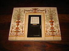 PORTUGAL HOUSES COLLECTION FRONT DOOR GARDEN DECOR TILE POTTERY CARBOILA