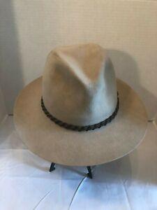 Borsalino Classic Fedora Hat Men