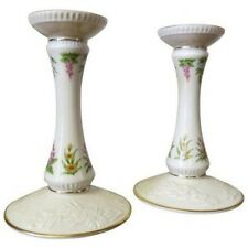 Pair LENOX USA CHINA THE CONSTITUTION LIMITED EDITION 1989 CANDLESTICKS NEW