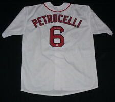 RICO PETROCELLI AUTOGRAPHED JERSEY (BOSTON RED SOX) W/ PROOF! - JSA COA!
