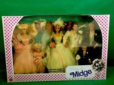 1990 Wedding  Party Midge Gift Set MIB No. 9852 By Mattel