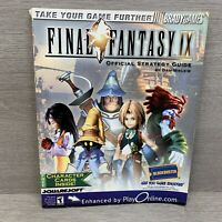 Final Fantasy IX BradyGames Official Strategy Guide w/ Exclusive Character Cards