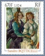 Timbre France Y&T 3301 Neuf** - Vénus et les Grâces - Sandro Botticelli - 2000
