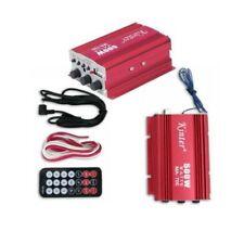 AMPLIFICATORE AUDIO 12V USB MP3 CASA AUTO 2 CANALI STEREO 500W TELECOMANDO EMD