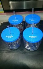 X4 BELVEDERE VODKA ICONE GLASSES WITH ICE TRAY  PUB/BAR/MANCAVE/PARTY