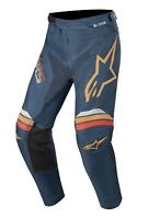 Alpinestars Racer Braap Pants 2020 Gr. 30 navy orange MX Crosshose Motocross