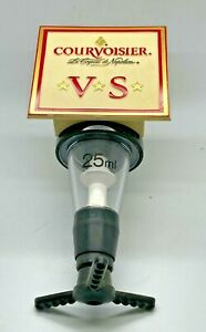 COURVOISIER BRANDY 25 ml OPTIC - PUB HOME BAR SPIRIT DISPENSER