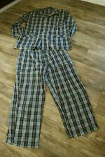 Karierte Herren-Pyjama-Sets in Größe 52