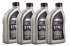 "Orginal Harley-Davidson Motorenöl ""SYN3"" vier mal 1 Liter synthetisch *62600015*"