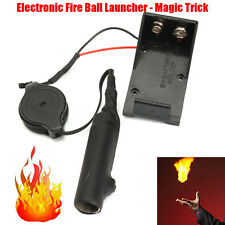 AU Magic Trick Electronic Fire Ball Launcher Illusion Accessories Stage Prop Toy