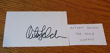 Anton Yelchin 2009 Star Trek XI Movie RARE FULL NAME Autograph on 3x5 Index Card