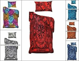 Duvet Cover Twin Size Cycle Of The Ages Cotton Fabric Quilt Cover Bedding Indian
