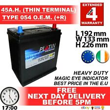 THIN TERMINAL RIDE ON MOWER LAWN MOWER BATTERY 895 896 EQUPGRAD 45AH Car Battery